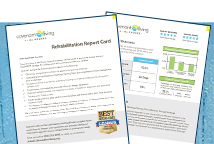 Rehab Report Card